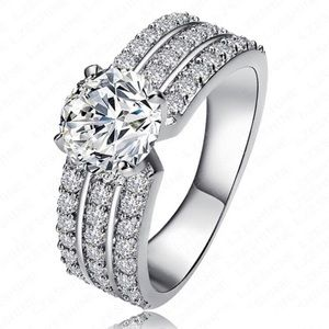 Sterling Silver Engagement Band